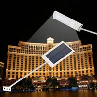 solar street light - Waterproof LED Solar Powered Sensor Lighting Ultra thin Outdoor Path Wall Street Light Garden Lamp Emergency Lamp Security Spot Light