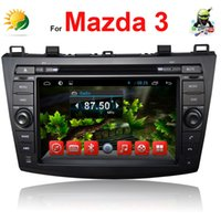 Cheap Touch screen car audio for mazda 3 car stereo android 4.4 Bluetooth Autoradio 3G WIFI CD MP3 AUX USB SD 2 din car dvd player