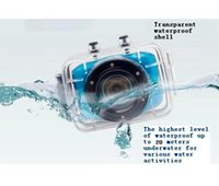 Wholesale Outdoor Extreme sports action digital camera caocorder m waterproof underwater HD p inch touch screen
