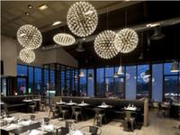 modern lighting pendant - New design Moooi Raimond Firework LED Pendant Lights Stainless Steel Ball Lightings For Restaurant Foyer Modern Creative Pendant Lamps