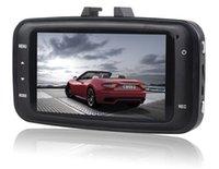 2 channel dvr - GS8000 HD1080P HD CAR DVR DOD Camera spy cam inch AVI G sensor Angle module cardod camera