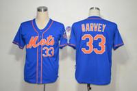 fashion baseball jerseys - 2015 Fashion Baseball Jerseys Mets Matt Harvey Blue Baseball Uniforms for Men New Style Sport Shirts Discount Baseball Wear for Sale