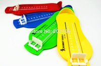 Wholesale 2015 New hot sell Adult children Foot Measure Gauge Child Infant Shoes Size Measuring Ruler Tool