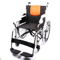 Wholesale yuwell H062 yuyue old man disability handicapped folding wheelchair aluminium alloy light portable deficientes folding wheelchairs