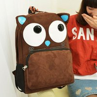 Cheap 3PCS LOT Cartoon Monster Students Backpack Outdoor Casual Sports Cycling Shoulder Bag GPI*3