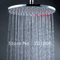 Cheap overhead shower round shower 16 inches ovehread shower rain shower head with arms