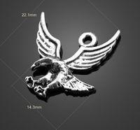 eagle pendant - Hot Selling Vintage Diy Alloy Eagle Pendant Retro Bronze Diy Jewelry Jewelry Findings Diy Gadgets Charm Locket Diy Materials