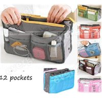Wholesale New Handbag Organiser Organizer Large Insert Travel Bag Pockets Colours cheap colorful bag
