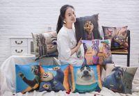 Wholesale 18 designs The Latest Movie Zootopia cm cm Stuffed Plush Toy Nick Fox Judy Rabbit Pillow Cartoon Cushion Pillows US03