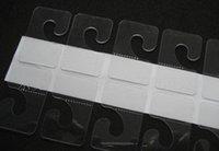 adhesive hang tabs - DHL Lowest Self adhesive J Hook Hanger for supermarket Hang Tab