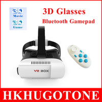 3d movies for sale - Newest Sale Video Movie Google Cardboard Version Virtual Reality d glasses with CSY Bluetooth Camera Shutter Gamepad for Smart Phones