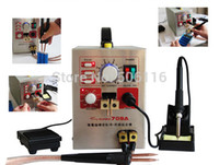 Wholesale New Mobile Phone Notebook Battery Micro Pulse Spot Welder Welding Equipment Machine Solding Machine Solder Two in One