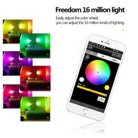 Wholesale Home Magic Color RGB Colorful Wifi LED Intelligent Light Bulbs Support Android IOS System Music Bulbs