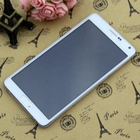 Wholesale Colorful N9100 HDC Note Four MTK6582 GHZ quad core Android4 GB RAM GB GB Ram GB Rom WCDMA MP Camera
