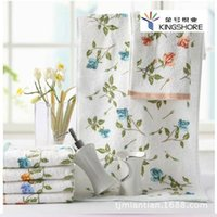 absorbent cotton manufacturer - 2015 New Towels Kim Pure Cotton Towel Manufacturers Authentic Rural Women Rhyme Soft Absorbent A028 Small Fresh And Elegant