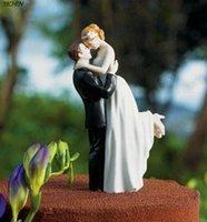 cake decoration cake - Main Squeeze Romantic Couple Figurine Wedding Cake Decorations Wedding Bride Groom Cake Topper Wedding Supplies Cheap New wq06