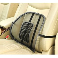 Wholesale 2015 New Office Chair Car seat Cover Sofa Cool Massage Cushion Lumbar Back Brace Pillow Lumbar Cushion