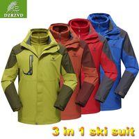 Pulse Womens Plus Size Ski Jacket Pink White 1X-5X