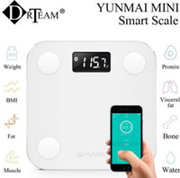 Wholesale Wireless Bluetooth Scale Yunmai Mini Compatable For Apple Android iOS7 Bluetooth4 Capacity Digital Weighing