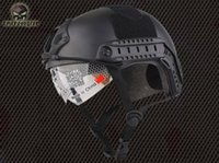 Wholesale Emerson Airsoft paintball Base Jump Helmet protective goggles military Tactics helmet Retail A3