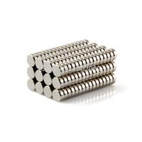 Acheter Aimant néodyme forte-100pcs aimants puissants Dia.5x2mm N50 Aimant de cadre néodyme Acrylique Rare Earth livraison gratuite