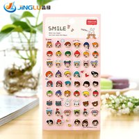 Wholesale Direct Selling Stickers South Korea Sent Straight Three Dimensional Foam Sticker Smiley Yeehyun