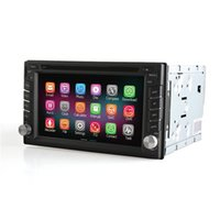 dvd car stereo - 6 inch Android Car GPS navigation Din DVD Car Stereo Radio Car GPS Bluetooth USB SD Player Built in WIFI Universal Car DVD Player
