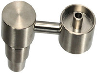 Wholesale Domeless Titanium Nail Fits to Both mm mm GR2 Titanium Nail Male Joint for Water Pipe Glass Bong Smoking