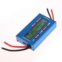 Wholesale LS4G Simple DC Power Analyser Watt Volt Amp Meter V V Solar Wind Analyzer