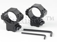 Wholesale 2PCS pair mm Tube Weaver Scope Mount Rings Low Profile Narrow mm Picatinny Rail Mount Rings