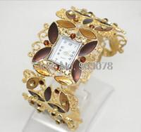 Wholesale ToMoNo Golden Metal watch charming Jewelry diamond women watch Xmas gift watch