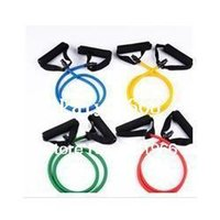 Resistance Bands exercise stretch band - Fitness Yoga Tube Heavy Resistance Bands Stretch Muscle Exercise Fitness Workout Band
