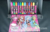drawing book - New Arrival Monster High Kids Colors Painting Pen Colour Book Sets Children s Day Gift Cartoon Warter Drawing Pen Christmas H2112