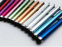 Wholesale 2000pcs Cheapest Light weight HD9 Capacitive Pen Metal Stylus Touch Pen For Tablet PC iPhone S S plus mini