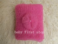 Wholesale newborn photography props wrap mohair wrap suit size X45cm