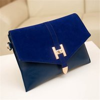 Clutch Bags luxury leather handbags - Luxury Classic Envelope Clutch Bags New Design Plaid Purse Bags Women Leather Handbags Ladies Messenger Bags