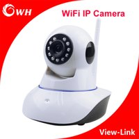 Wholesale CWH IPC05 WiFi Wireless IP Camera CCTV Cameras Home Security Cameras System ONVIF P2P Dual Audio IR Night Vision Pan Tilt Support IE Phone