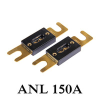 Wholesale In stock New AMP A ANL Fuse Gold Plated For Car Audio