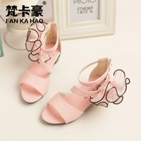 best dance shoes - Best selling summer Sandals for girls Korean Princess in high heels shoes dancing shoes for students in sandals