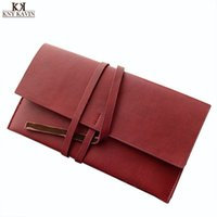 Wholesale 2015 New Arrival Fashion Women Long Wallet Vintage Simply Solid Cover String Purse Casual Soft Large Asymmetric Clutch BW301