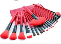 Wholesale HOT Sale Professional Makeup Brush tools Sets Make up Toiletry Kit cosmetic Brush Set Case