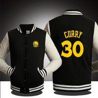 basketball jackets - BASKETBALL GOLDEN STATE CURRY WARRIOR SPRING FALL WINTER Jacket lover s Sweatshirt baseball uniform for MAN COLORS