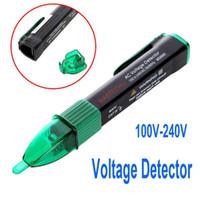 Wholesale 100V V Non contact AC Voltage Detector Sensor Tester Pen MASTECH MS8900 Freeshipping wholesales