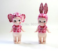 artist movie - 2015 New Sonny Angel Kiss Mark Leopard Limited Artist Collection Elephant Rbbit PVC Action Figure Kids Toys For girl set