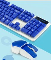 Wholesale 10pcs JK Modern special wireless gaming cool keyboard and mouse set computer tv ultra thin keyboard kit combos