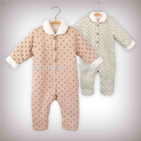 organic baby rompers - J G Chen Organic Cotton Autumn Winter Babies Newborn Rompers Unisex One Piece Baby Costume Jumpsuit Baby Girls Boys Clothing