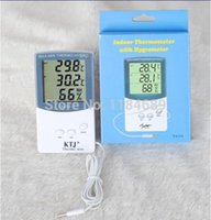 Wholesale Digital Indoor Outdoor Thermometer with Hygrometer C F Hygrometer
