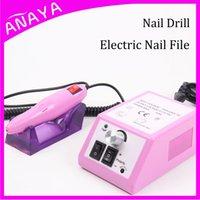 electric nail file - Professional Electric Nail Art Salon Portable Nail Drill Bits Tools Vacuum For Manicure Pedicure Machine Nail File