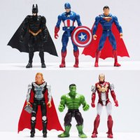Wholesale The Avengers figures super hero toy doll baby hulk Captain America superman batman thor Iron man