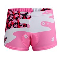 Wholesale Hot Beauty Women Cycling Shorts Breathable Outdoor Bicycle Underwear Pants Sports Shorts with D Pad Cushion